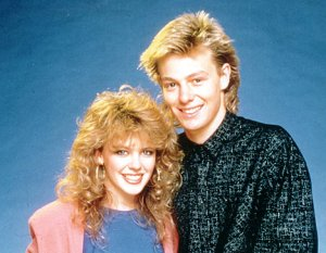 Kylie Minogue + Jason Donovan, days of Neighbours