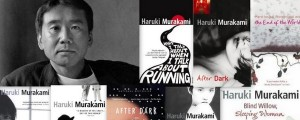 The books of Haruki Murakami