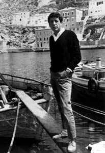 Leonard Cohen in Greece