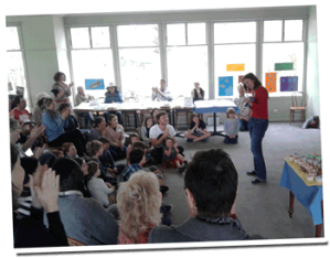 Lisa Donofrio teaching