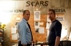 Marty (Woody Harrelson) & Rust (Matthew McConaughey) in True Detective